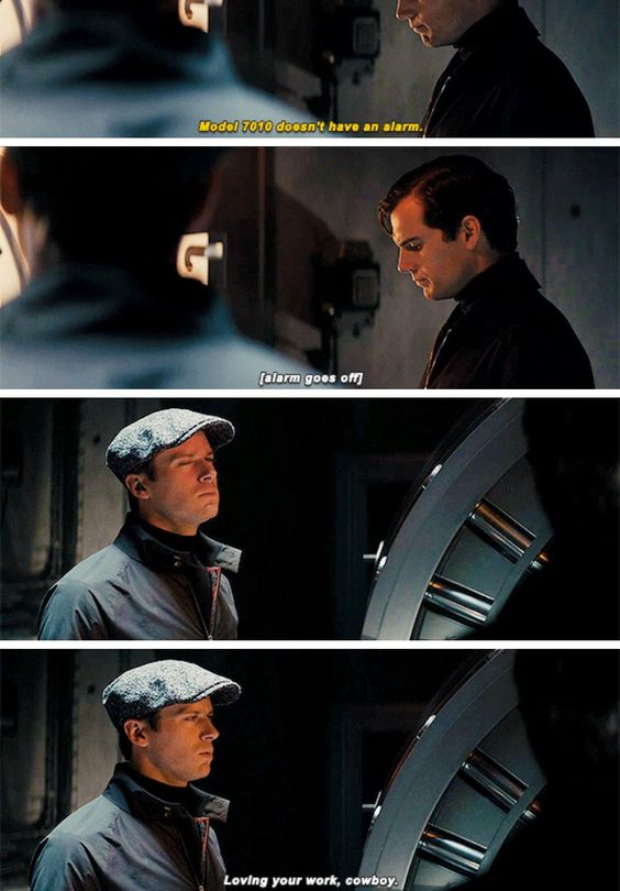 Fav scene from Man From U.N.C.L.E.: