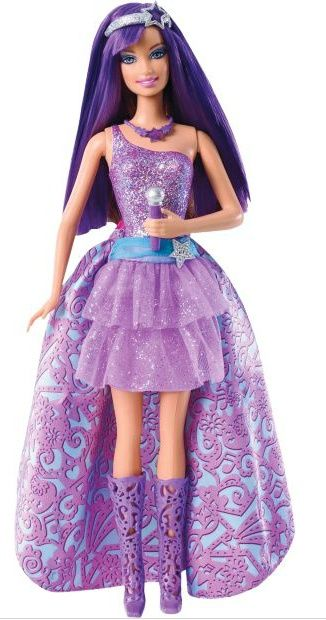 Keira The Popstar from Barbie The Princess and The Popstar Doll Review: