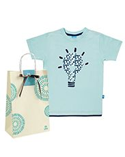 Presente Natura Crer Para Ver - Camiseta Infantil Masculina + Embalagem