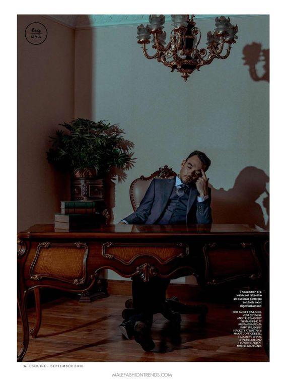 Basti Artadi para Esquire Filipinas Septiembre 2016