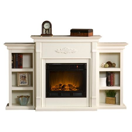 Electric fireplaces joss and main and on the side on for Eco friendly fireplace