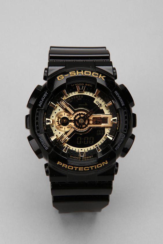 G-Shock Black And Gold GA110 Watch | Boys, The internet ...