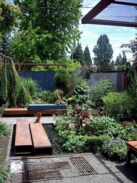 45 Trending Makeover Ideas For Front Yard And Backyard In 2019 Decoarchi Com Backyard Beautiful Backyards Front Yard