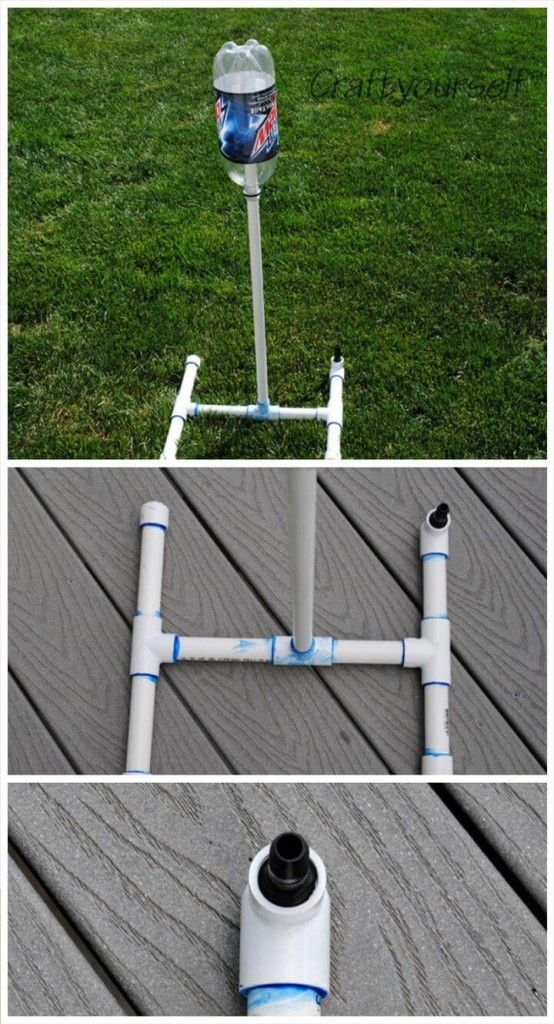 Reclaimed Pvc Pipe Rocket Launcher Pvc Projects Pvc Pipe