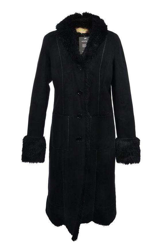 #DKNY #DonnaKaran | Angenehm wärmender #Kunstfellmantel, Gr. L | Donna Karan | mymint-shop.com | Ihr #OnlineShop für Secondhand / Vintage #Designerkleidung & #Accessoires bis zu -90% vom Neupreis das ganze Jahr #mymint