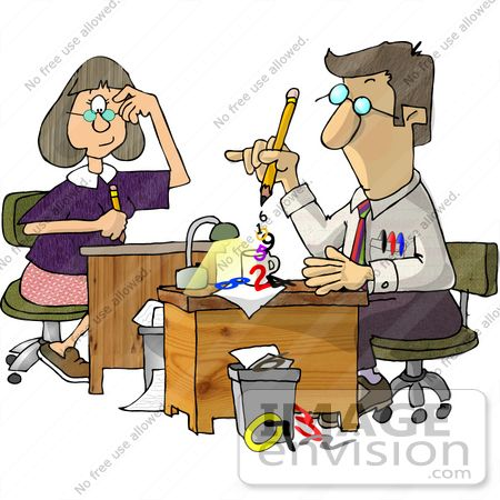 Clip Art Accounting Clip Art accounting clip art clipart of an accountant using a calculator watching 18916 by djart royalty