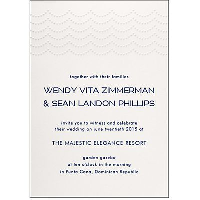 Personalize Wedding Invitations www.papersource.com