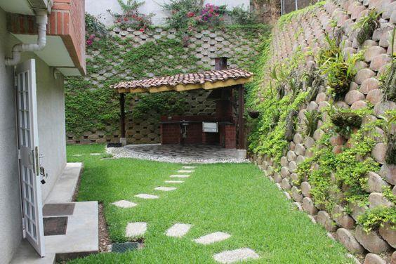 Dise o y arquitectura de parrilleros buscar con google for Patios exteriores de casas