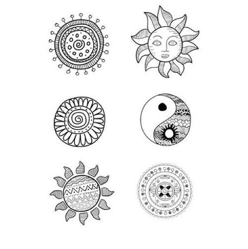 Sweet Little Doodle Ideas Tattoo Board Pinterest Sun