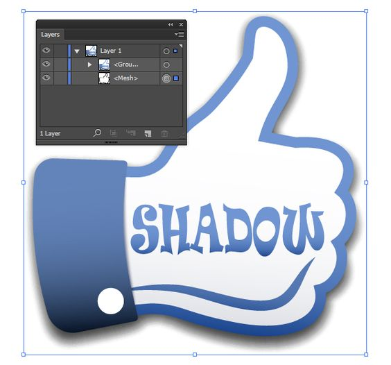 How to Create 100% Vector Shadow in Adobe Illustrator – Vectorboom