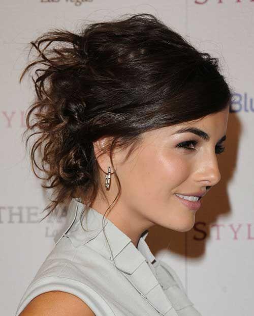Tremendous Updo Short Hairstyles And Hair Updo On Pinterest Short Hairstyles Gunalazisus