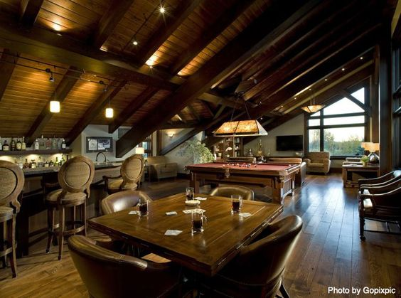 Man cave ultimate man cave and poker table on pinterest