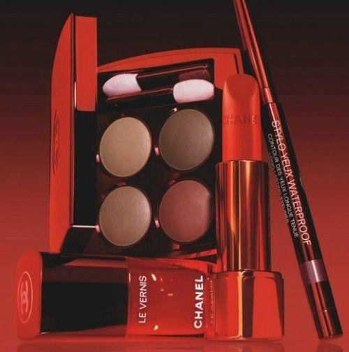 Resultado de imagen para maquillaje otoño 2016 chanel le rouge