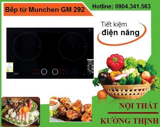 Bếp từ Munchen GM 292 tiết kiệm điện năng