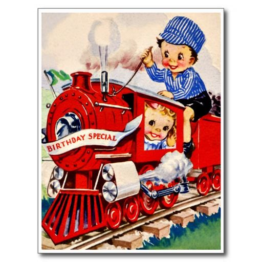 Coupon code little train engineer retro happy birthday card post coupon code little train engineer retro happy birthday card post cards little train engineer retro happy birthday card pinterest bookmarktalkfo Image collections
