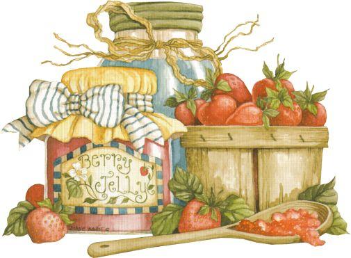 Scraps - Victorian Die Cut - Victorian Scrap - Tube Victorienne - Glansbilleder - Plaatjes: Kitchen
