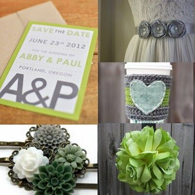 Cincy Event Planning | Cincinnati + Dayton Wedding and Event Planners: cozy green + gray inspiration | cincinnati wedding planner