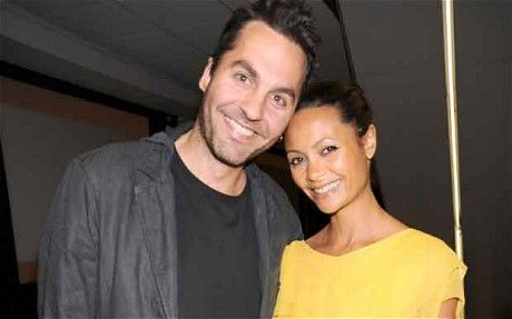 Thandie and hubby Ol Parker