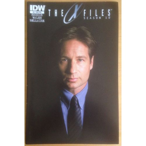 The X-Files Season 10 #8 IDW Comic Book Subscription Cover Variant
