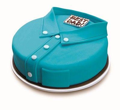 Una tarta decorada con fondant especial para el Día del Padre, ¡genial! Idea de @letsgosago #DiaDelPadre #Papa: