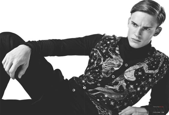 Chris Doe & Christian Von Pfefer Model Winter Designs for Essential Homme -
