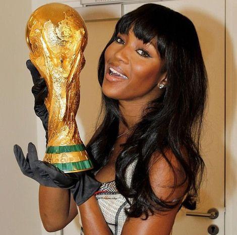 O Mundial no Instagram -  Naomi Campbell - #2014FIFAWORLCUPBRAZIL Go Brazil #10