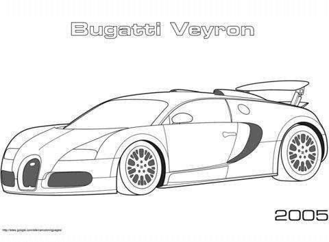 Bugatti Veyron Coloring Pages Malvorlagen Hot Wheel Autos Autos Malen