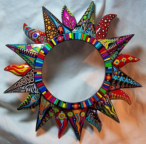 sol primaveral by sterlingartz mosaic pinterest pol meros sol y acr licos. Black Bedroom Furniture Sets. Home Design Ideas