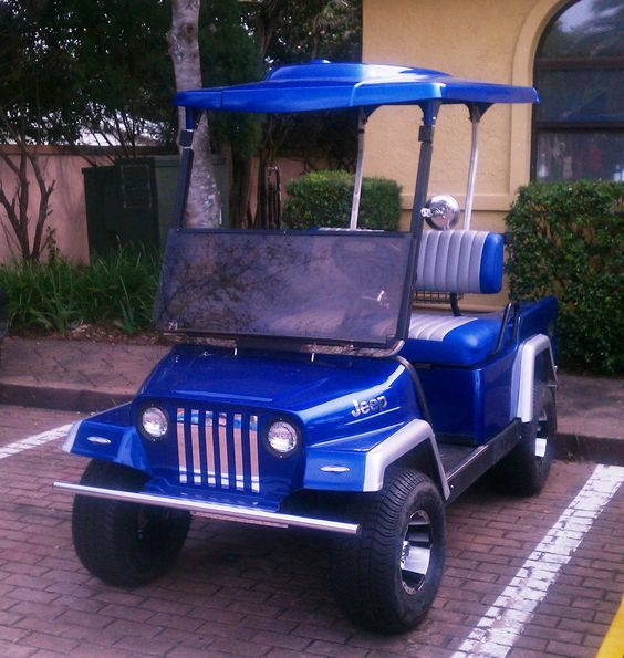 Golf Cart Bodies, Golf Carts And Jeeps On Pinterest
