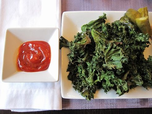 I LOVE Kale chips! Did I mention I've loved Kale for years? My favorite recipe is Portuguese Kale and Potato Soup. I think I'll pin that next- although, my recipe is the best:)