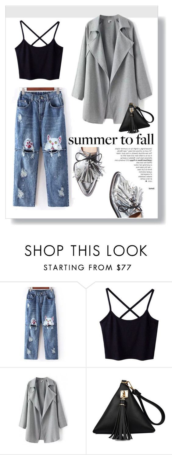 """""""Summer to fall"""" by inka-inovia ❤ liked on Polyvore featuring Loeffler Randall"""