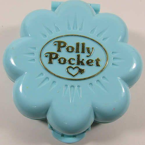 1990 Vintage Lot Polly Pocket Midgeu0027s Flower Shop Florist COMPLETE   Badezimmer  1990