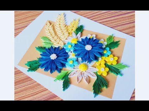 Diy Paper Quilling Flower For Beginner Learning Video 29 Paper