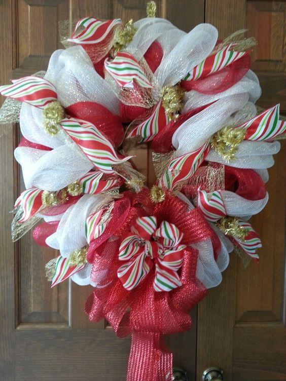 Mom and dad's Christmas wreath-needs something