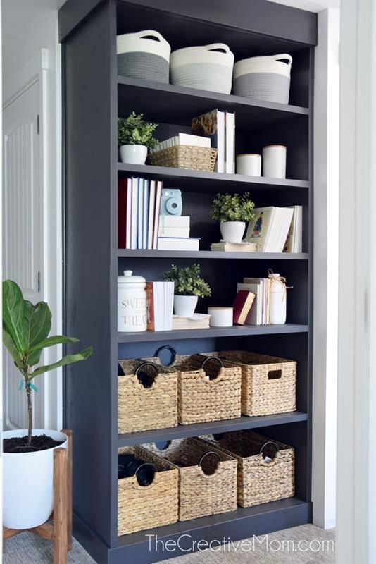 This Is A Basic Bookcase Designed To Fit In A 8 Foot Tall Room