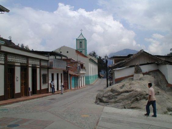 Las calles de San Simón Estado Táchira