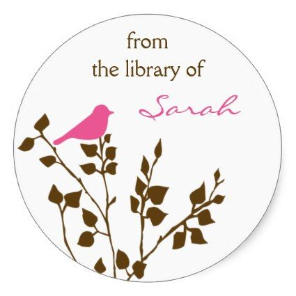 #KidsReadMore         	  	  		  		 		 		  			 			  					   					  			 		   		  		 		  		 			 			  Custom Bird Bookplate Stickers   		 			 			  		  		 	   	      Customize these Bird Stickers with the name of your choice! Perfect for labeling books you loan out. Makes a great gift for students and book lovers!