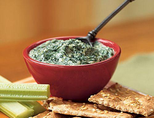 Spinach-Parmesan Dip Recipe  | http://newestrecipe.com #tasty recipes  #healthy recipes,  #spinach dip recipes