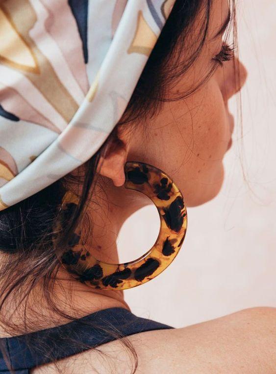 10 Resin Statement Earrings for under $10