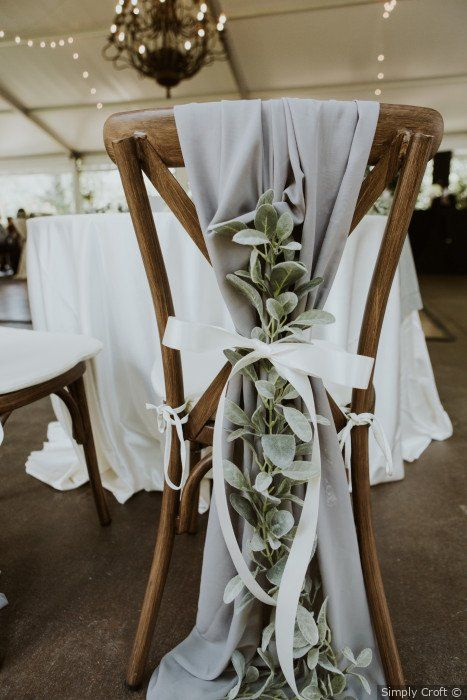 Astonishing Chair Decor to Beautifully Style up Your Wedding, 8d62110b15936a0a9ec5fda34f41d36e
