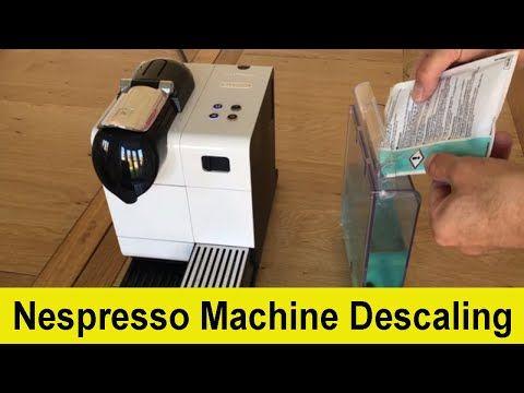 How To Descale Your Delonghi Nespresso Lattissima Coffee Machine Youtube Nespresso Lattissima Nespresso Coffee Machine