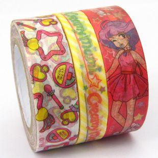Pattern: Magical Angel Creamy Mami washi tape.