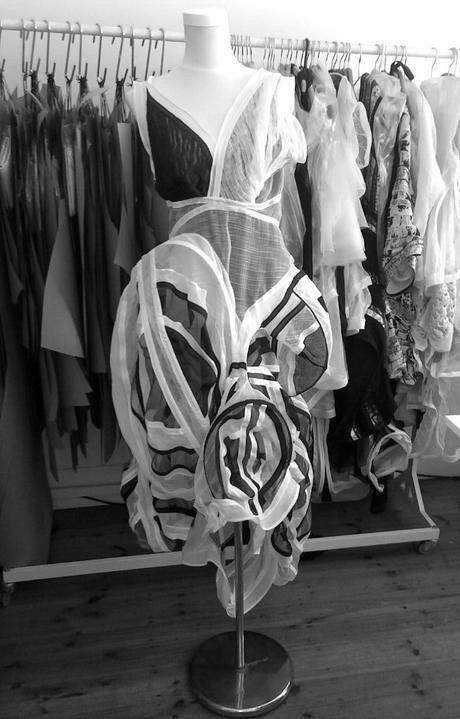 LARA KLAWIKOWSKI / studio 31/10/2014  - LARA KLAWIKOWSKI dress designed for the Amy Biehl Foundation's Annual Gala Auction 2014