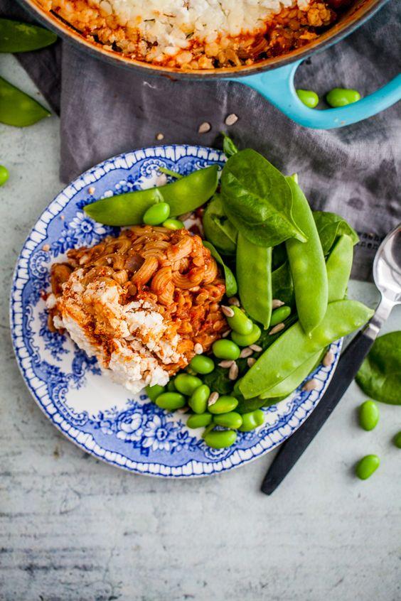 Vegetarisk Pastagratang Recept Nyttig Mat Foodies Middag