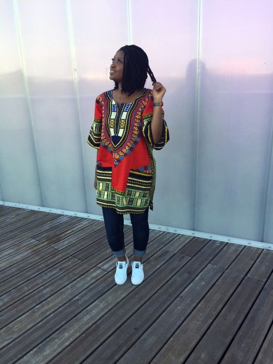 Bon Plan Sneakers & Dashiki | Timodelle Magazine:
