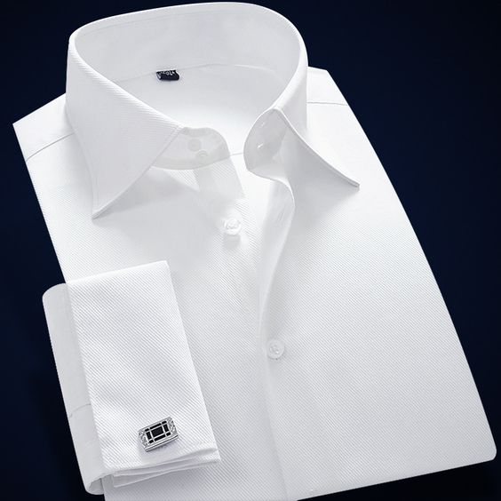 Mens White French Cuff Dres Shirt Long Sleeve Men Clothes 2015 Men Shirt Slim Fit Brand Cotton Imported Clothing with Cufflinks-inDress Shirts from Men's Clothing & Accessories on Aliexpress.com | Alibaba Group