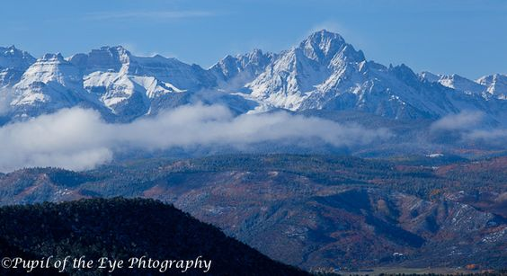 Mount Sneffles in the San Juan Mountain Range