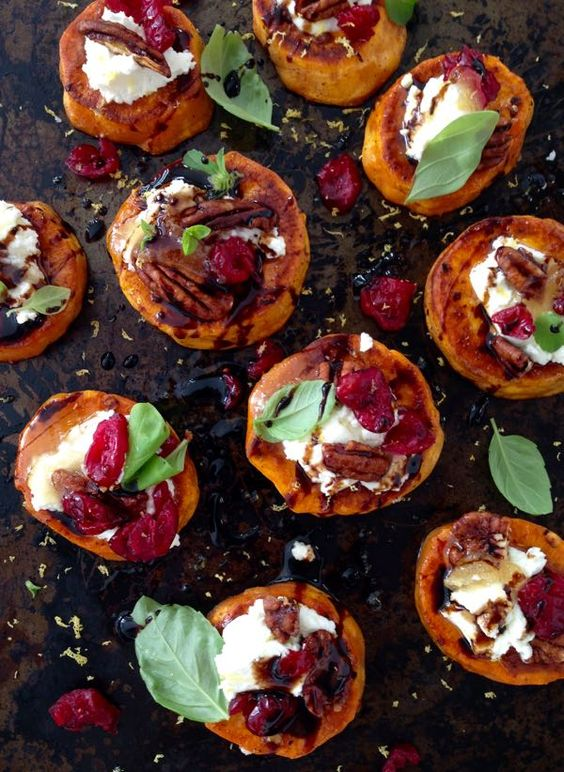 Sweet Potato Rounds Recipe