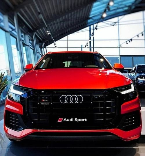 Lady In Red Audi Rsq8 Q8 Nation Audi Obsession Red Audi Best Luxury Cars Audi Cars
