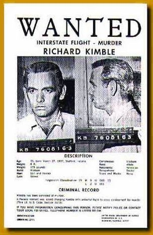 Resultado de imagen para richard kimble